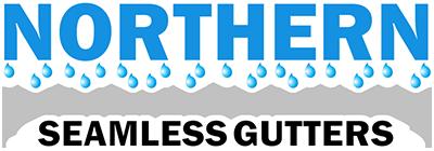 Seamless Rain Gutters Logo